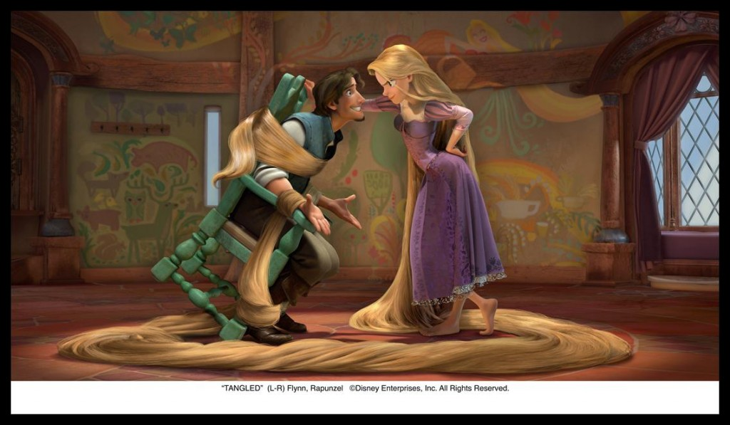 disney tangled movie 2010