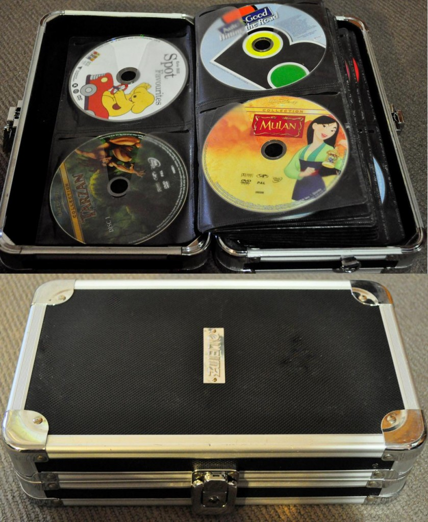 Organising DVDs