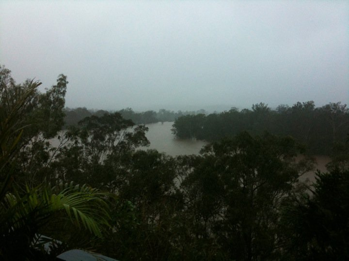 brisbane river queensland floods