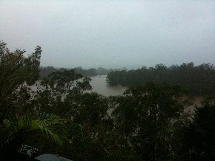 brisbane river queensland floods