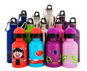 cheeki stanless steel environmentally friendly school drink bottles green