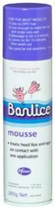 head lice treatment banlice