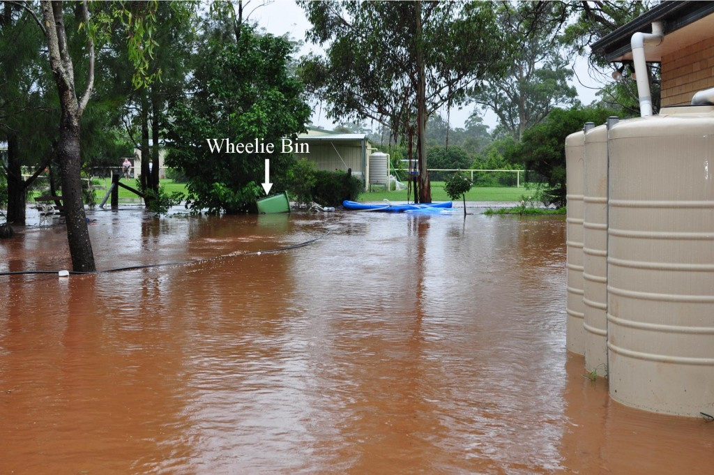 Queensland floods, Toowoomba, Inland Tsunami