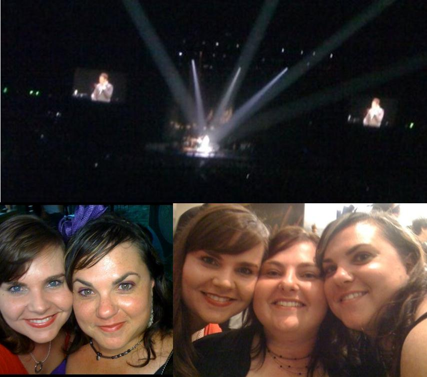 girls night out michael buble concert brisbane
