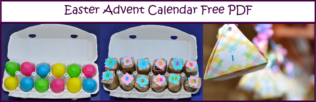 Easter Advent Calendar Free PDF