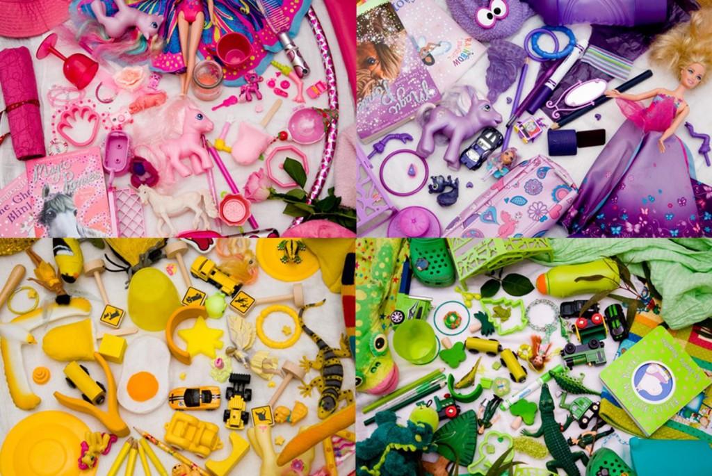 Activities for preschool children: Picklebum Colour Hunt