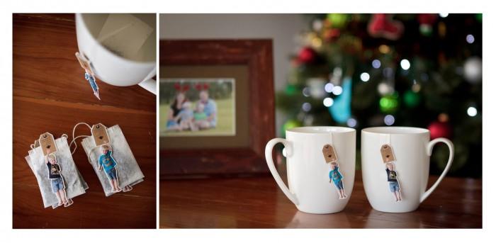 Personalised Photo Tea Bag - gift idea