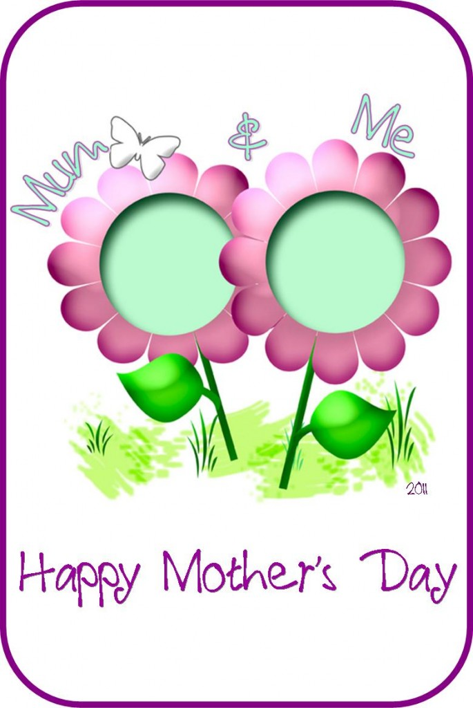Happy Mothers Day Card template