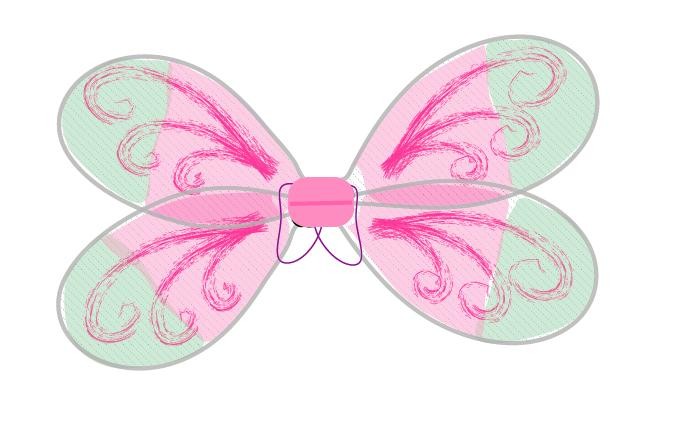 how to make fairy wings step 6 - on beafunmum.com