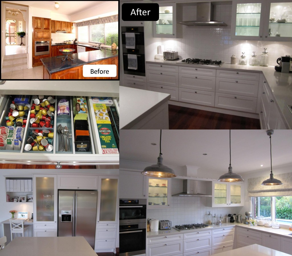 Kitchen renovation french vintage country inspired
