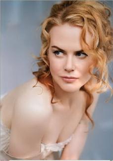 spring colouring: Nicole Kidman