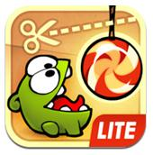 cut the rope lite iphone app for kids