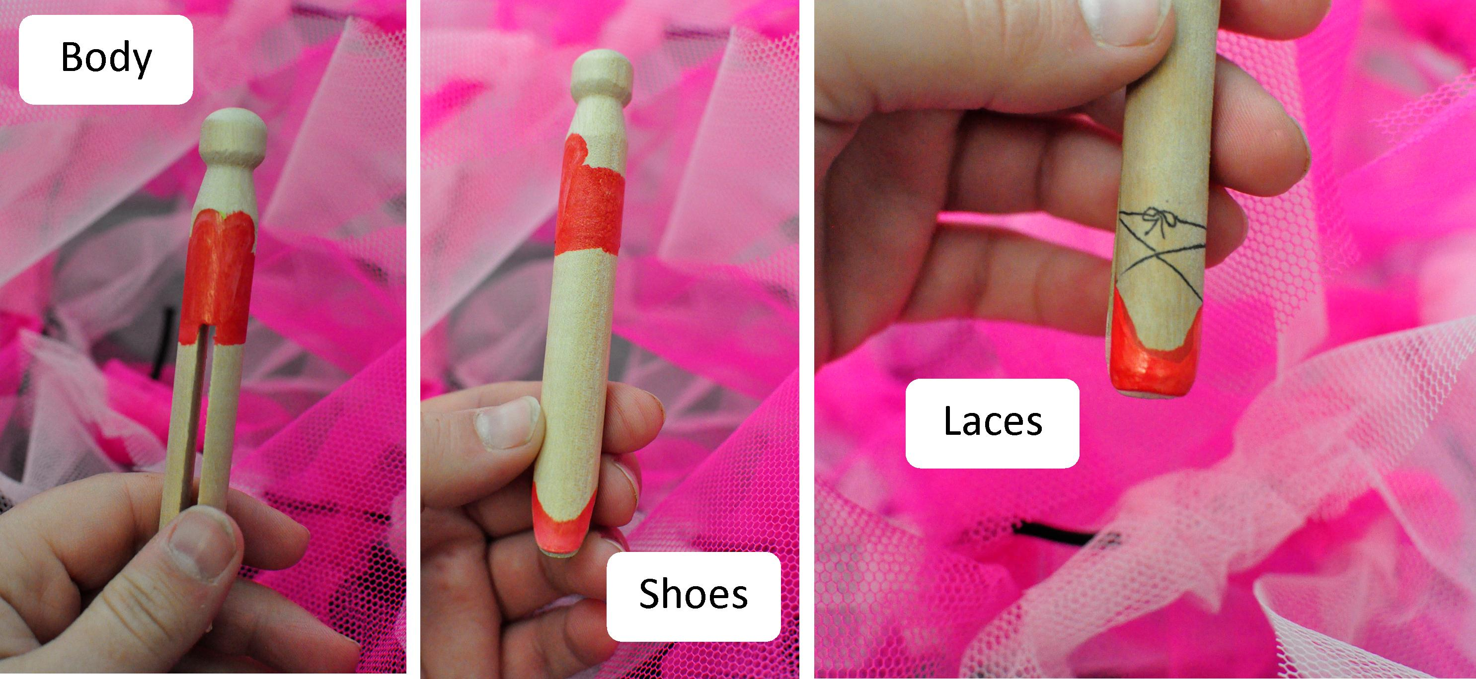 How to Make a Ballerina Peg Doll | Be A Fun Mum