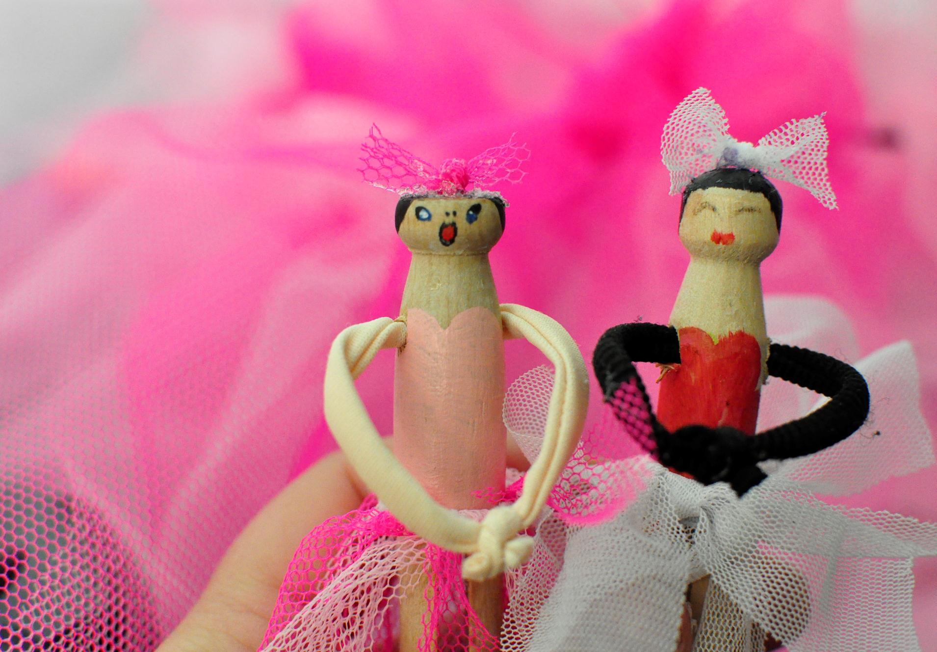 How To Make A Ballerina Peg Doll Be A Fun Mum