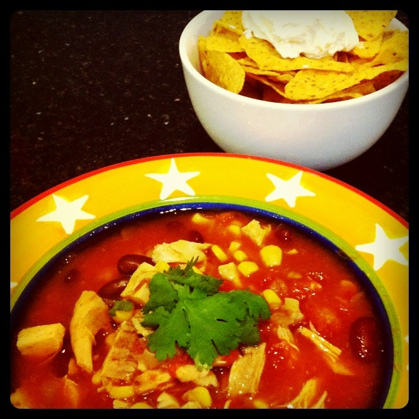 step six Chicken Enchilada Soup recipe