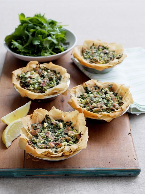 Ham & spinach Pie Recipe