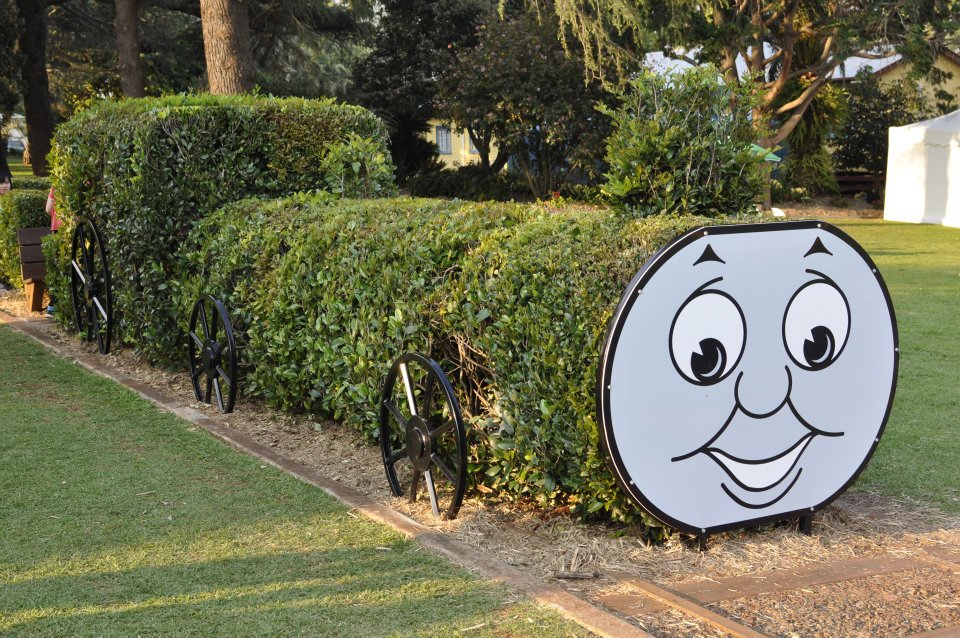 Thomas the Tank Engine Feature at Laurel Bank Gardens Toowoomba