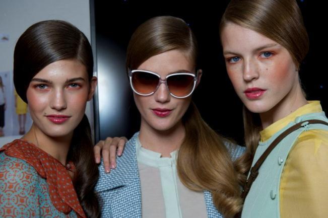 London Fashion Week 2011 Hair Styles