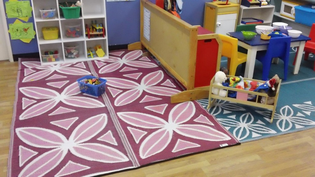 recycled mats -- pink