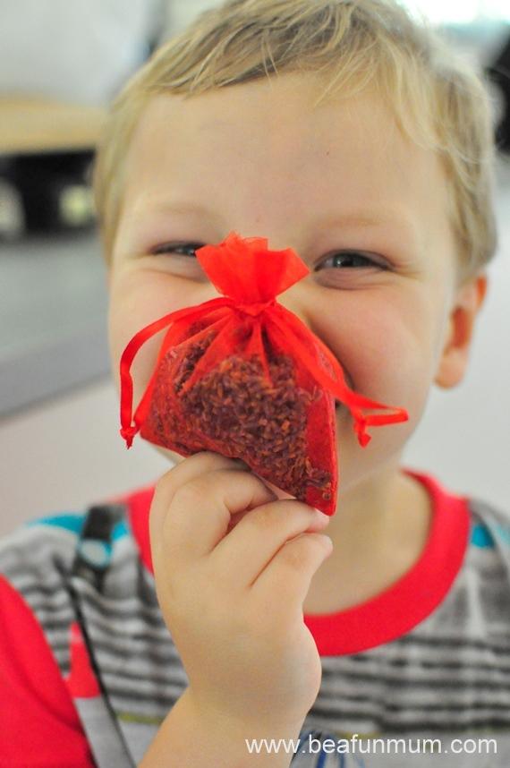 potpourri gift bags