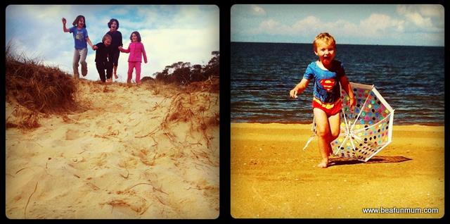 outdoor kids -- beach