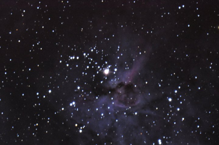 Eta Carinae as seen at the Warrumbungle Observatory 21 July 2011