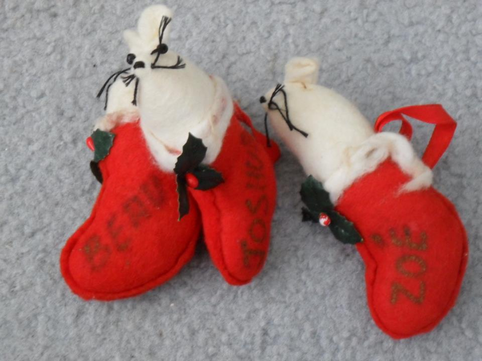 handmade Christmas tree decorations -- a story