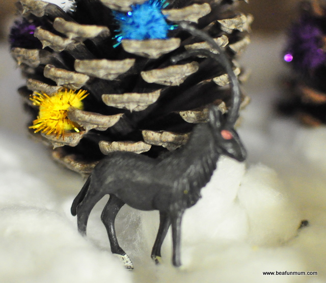 how to make a christmas diorama