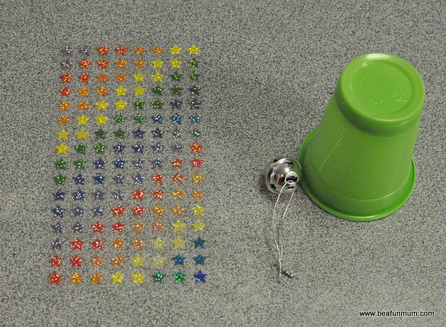how to make a plastic cup bell