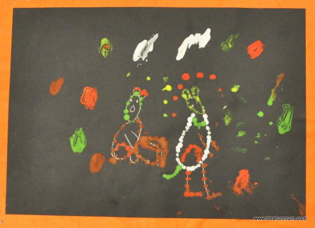 aboriginal painting prep daughter 2011