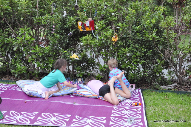 school holiday ideas -- play space