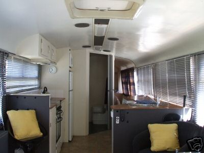 living in a bus -- living area