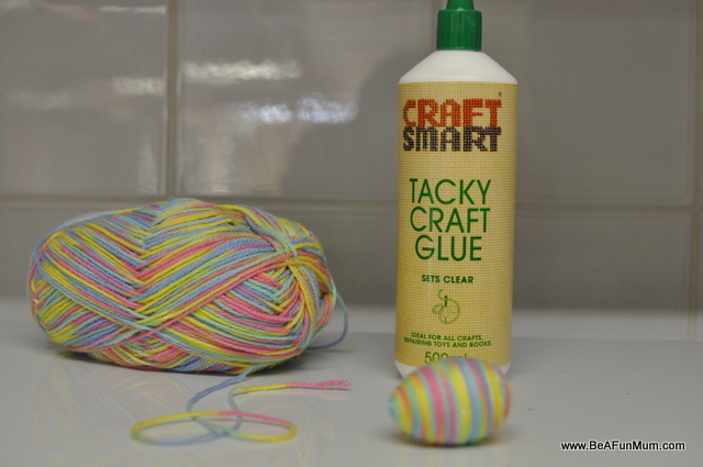 Use tacky craft glue for foam