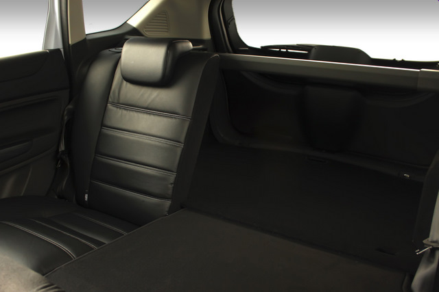 Ford Kuga Titanium -- folding back seats