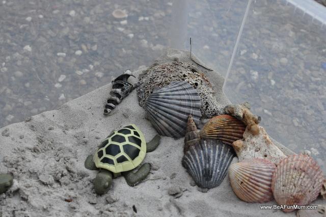 ocean play scene