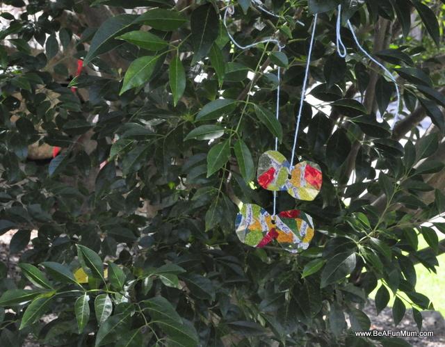 Easter Craft - Easter Egg Foil Butterfly