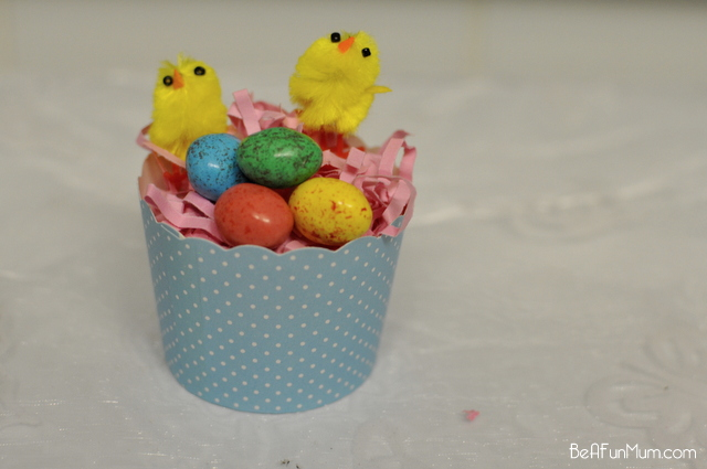 Cupcake Chicken Nest