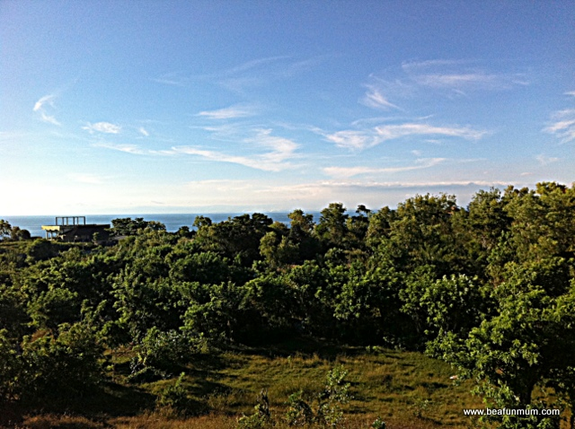 view bali beach