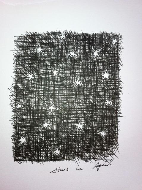 stars in april in bali