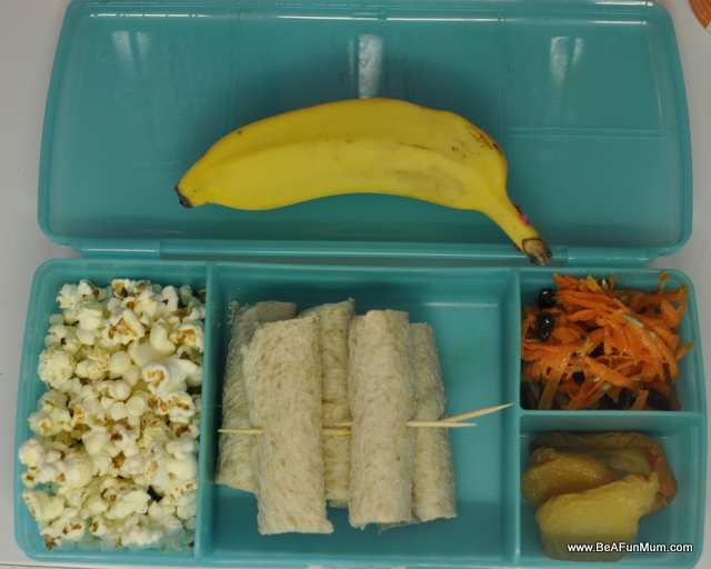 Carrot salad lunch box idea