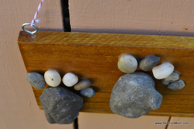 instuctions nature craft stone foot feature