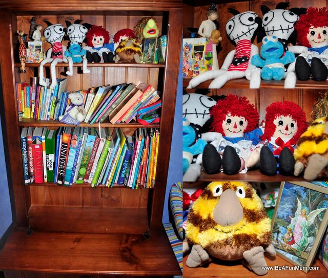 create a memory shelf