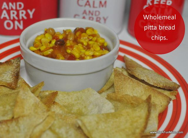 fibre and kids -- wholemeal pitta bread chips-001