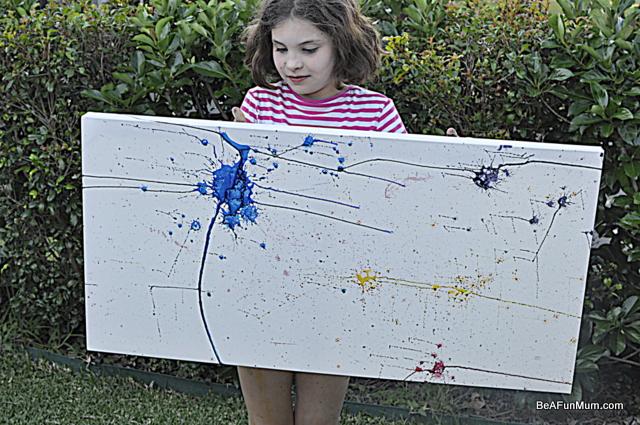 family art -- balloon painting