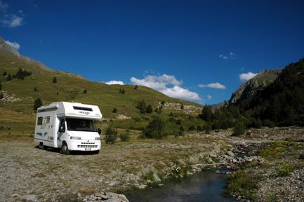 campervan around italy