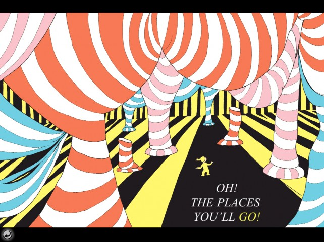 the places you'll go by dr seuss illustraions
