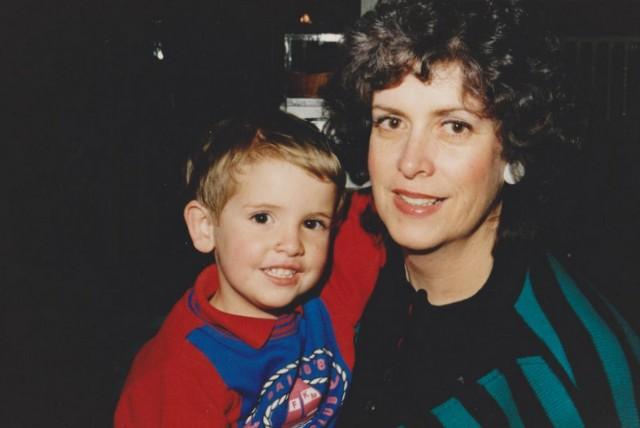 Pam Sullivan & Eamon Sullivan as a toddler