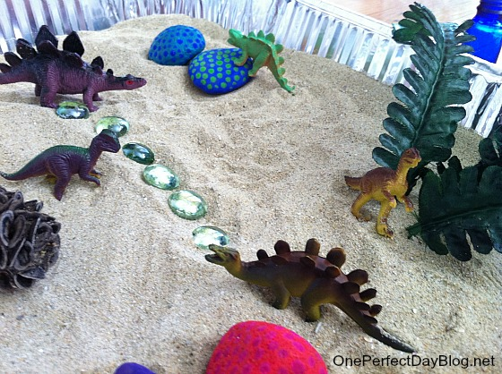 Painted rocks dinosaur game 2