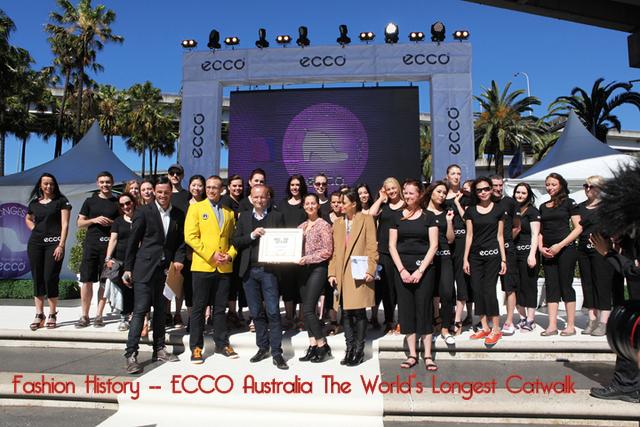 ECCO World's Longest Catwalk in Sydney