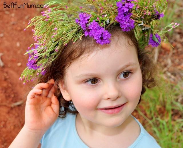 flower head wreath